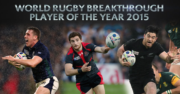 Nominees named for new World Rugby Breakthrough Player of the Year Award