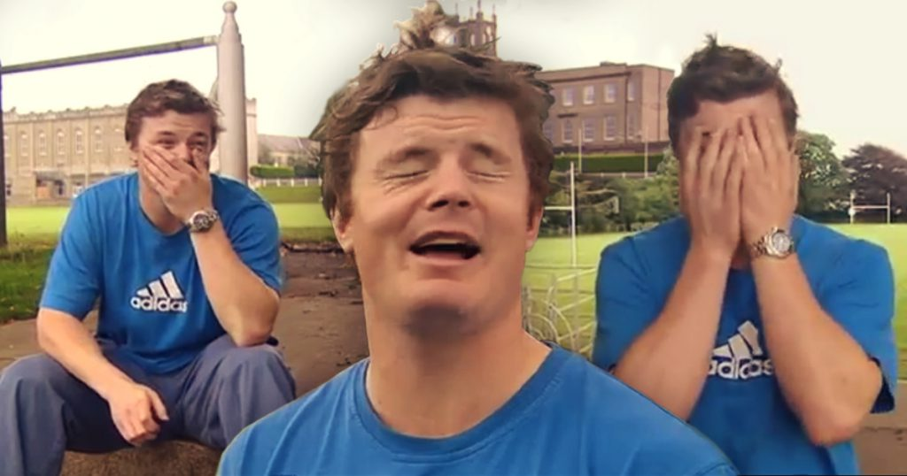 #ThrowbackThursday: Brian O'Driscoll bloopers show how far he's come