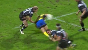 Brock James sensational reverse flick pass sets up try for Napolioni Nalaga