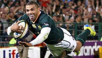 Bryan Habana hat-trick sinks the wounded Wallabies in Pretoria