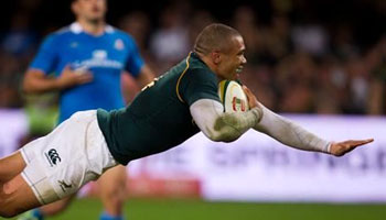 The Springboks romp to convincing win over Italy in Durban