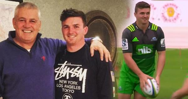 Warren Gatland's son Bryn set for Super Rugby debut