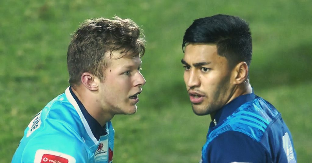 Cam Clark shows up speedster Rieko Ioane with unbelievable chase