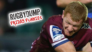 Friday Funnies - Cameron Treloar's big knock before reaching the field