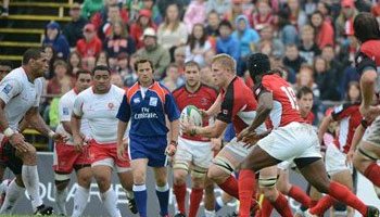 Canada beat 14-man Tonga in eventful Pacific Nations Cup clash