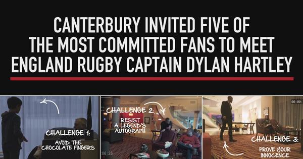 Dylan Hartley pranks unsuspecting England fans