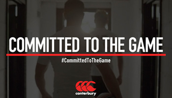 Canterbury launches 'Committed to the Game' campaign