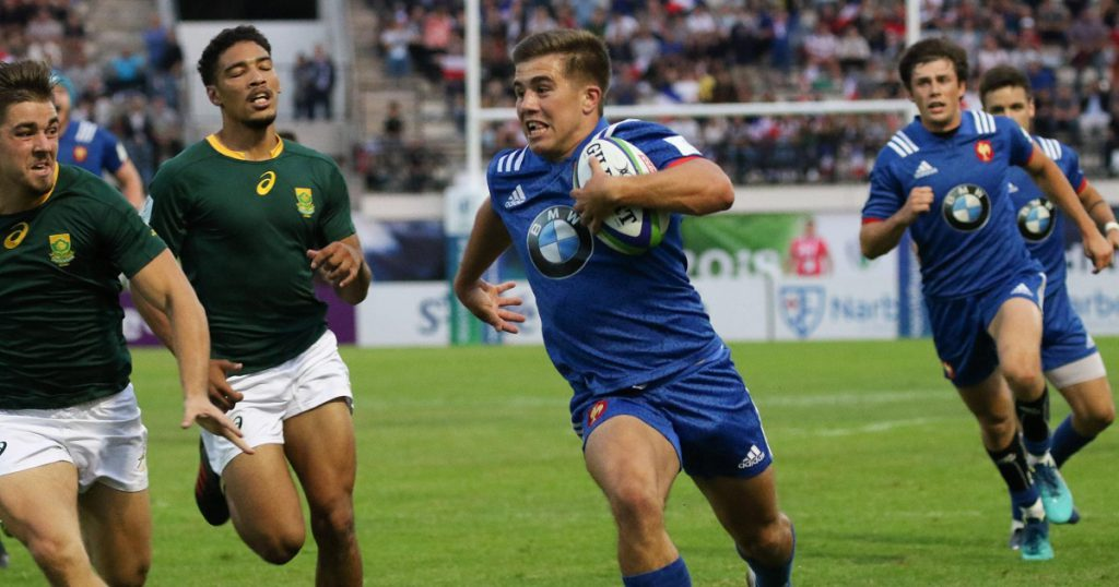 Three sensational tries in the final U20 World Championship pool stages