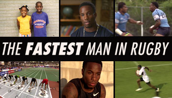The Fastest Man In Rugby: Carlin Isles short documentary