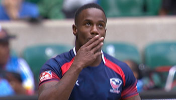 Carlin Isles burns England in semi final as USA fly to London 7s Cup Final victory