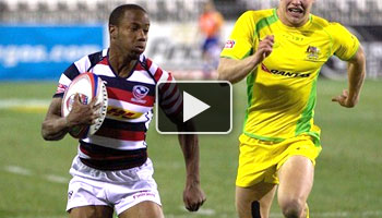 Highlights from day one of the 2013 USA Sevens in Las Vegas