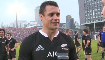 Post match reaction from All Blacks vs Japan in Tokyo