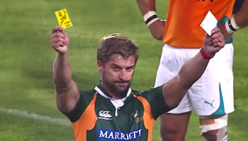 A look at the first ever White Card in Super Rugby