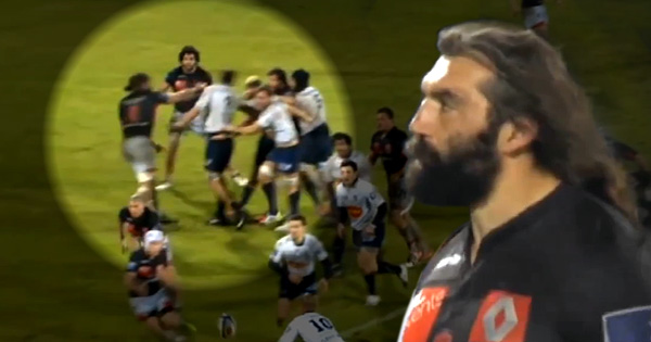 #Throwback Thursday: That time Sebastien Chabal knocked Marc Giraud out with a slap