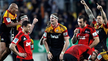 The Chiefs beat the Crusaders to reach the Super Rugby final