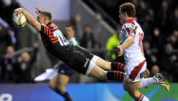 Saracens through to Heineken Cup semi final as 'Ash Splash' returns