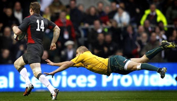 England outpace the Wallabies at Twickenham