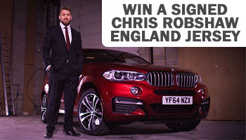 WIN a signed and framed Chris Robshaw England rugby shirt