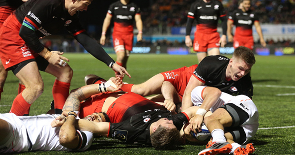 Saracens thump Toulouse on opening weekend of European Champions Cup