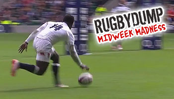 Midweek Madness - Christian Wade butchers hat-trick try against the Barbarians