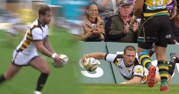 Danny Cipriani brilliance sets up outstanding Jimmy Gopperth try