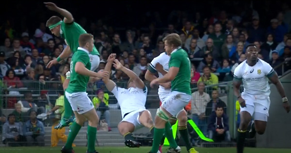 CJ Stander banned for 1 week after red card for knocking out Pat Lambie