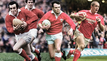 Classic Welsh Tries from 1970 to 2008