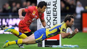 Clermont Auvergne beat Perpignan in high scoring try-fest