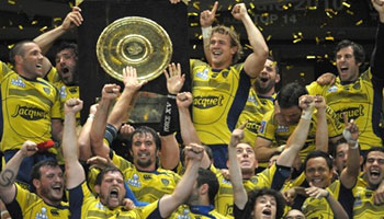 Clermont basking in glory after beating Perpignan to win the Top 14
