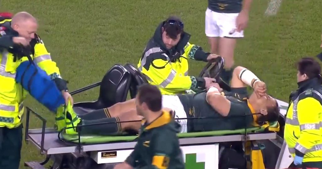 Injured Coenie Oosthuizen inflicted further pain by clumsy medic