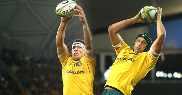 Wallabies team for Argentina features their tallest second row combo ever