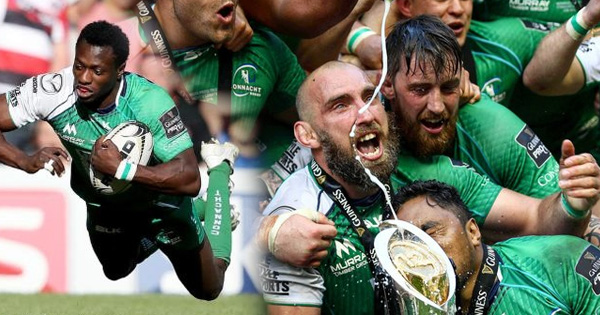 Connacht win the PRO12 for first time by beating Leinster at Murrayfield