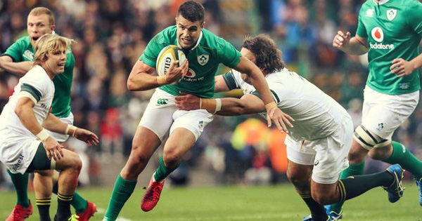 Courageous Ireland beat Springboks in South Africa for first time ever