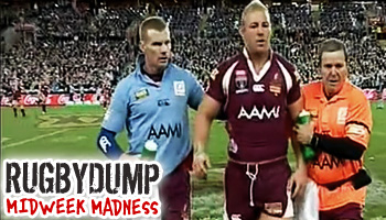 Midweek Madness - Michael Crocker knocked out by the ball