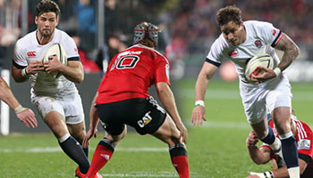 England impress with big midweek win against the Crusaders