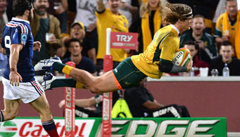 Wallabies notch up 50 in runaway first Test win against France