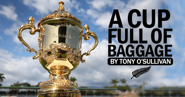 A Cup Full of Baggage - The RWC Final from a Kiwi perspective