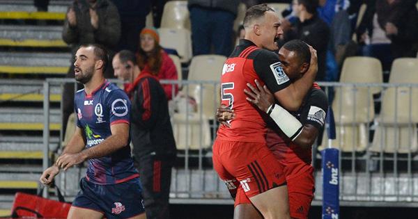Jone Macilai hat-trick helps Crusaders breeze past Reds