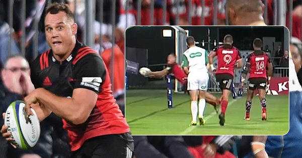 Israel Dagg marks his 100th Super Rugby match with some serious skill