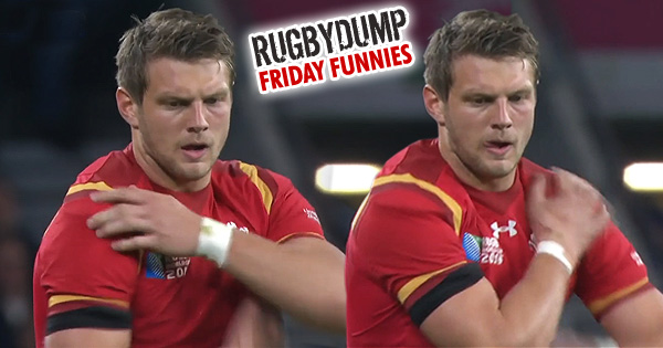 Friday Funnies - Dan Biggar's bizarre kicking ritual, the Biggar Shuffle