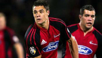 Dan Carter Hit Hard by Chris Masoe