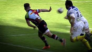 Danny Care brilliant inside flick sets up Matt Hopper try vs Clermont