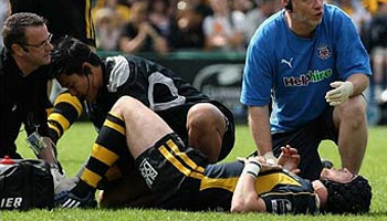Danny Cipriani suffers serious injury - out of NZ tour