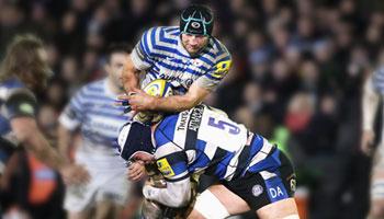 Dave Attwood's big tackles on Steve Borthwick and Mako Vunipola
