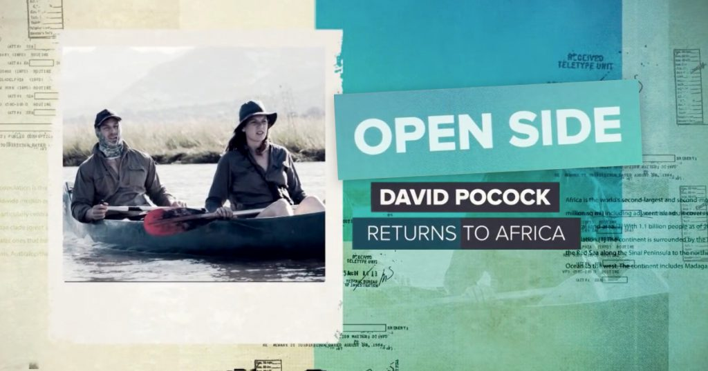 OPEN SIDE: Fascinating insight into David Pocock's return to Africa
