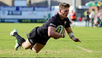 Late Exeter comeback isn't enough as Saracens win dramatic LV= Cup Final