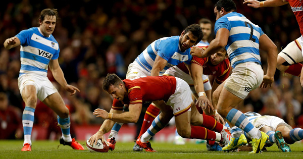 Wales edge Argentina for confidence building win