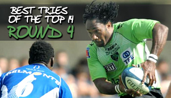 Best tries of the Top 14 - Round 4