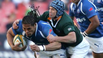 Springboks vs Samoa from Ellis Park