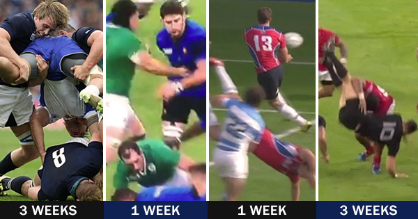 Footage and recaps of the latest RWC 2015 Bans